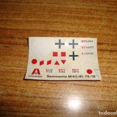 Hobbys: (ALB-TC-103) CALCA DECORACION ITALAEREI. Lote 171836644