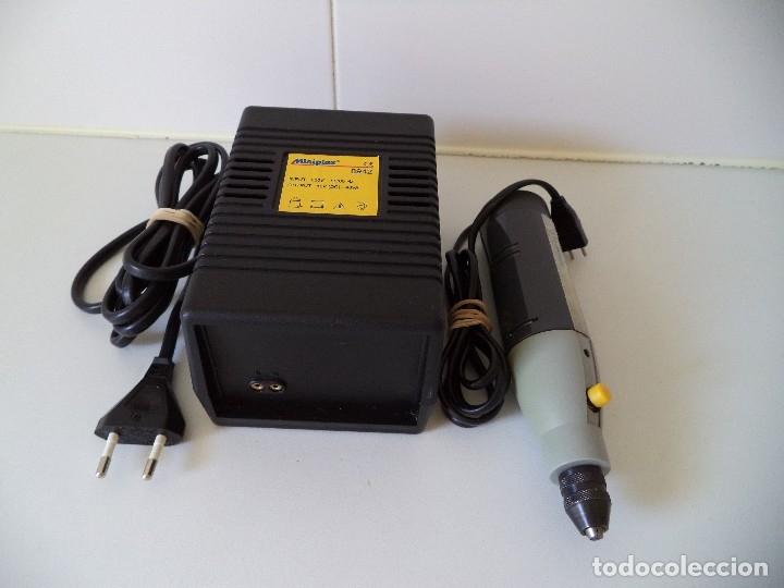 TALADRO ELECTRICO,MINI TALADRO,MARCA MINIPLEX.100W (Juguetes - Modelismo y Radiocontrol - Herramientas y Accesorios)