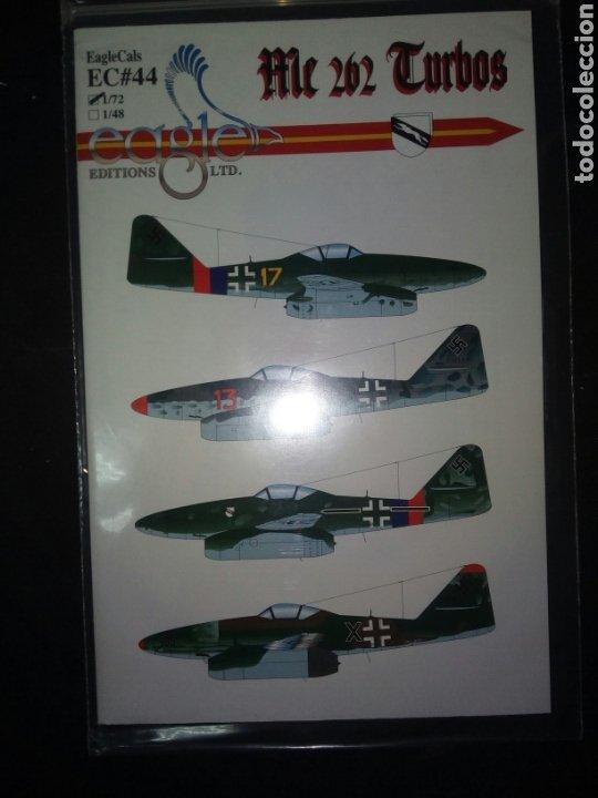 EAGLE CALS ME 262 TURBOS (Juguetes - Modelismo y Radiocontrol - Herramientas y Accesorios)