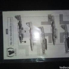 Hobbys: EAGLE STRIKE ME 262 STURMBIRDD 1/72. Lote 177837163