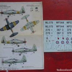 Hobbys: CALCAS DE TRUMPETER DEL WESTLAND WYVERN S.4 ESCALA 1/72. Lote 178722642
