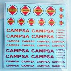 Hobbys: 1/87 HO CALCAS TRANSFERIBLES AL AGUA - CAMPSA. Lote 178758087