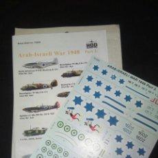 Hobbys: HQD ARAB ISRAELÍ WAR 1948 PART 2 1/72. Lote 180087108