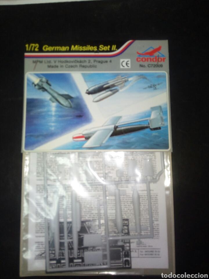 CONDOR 1/72 GERMAN MISSILES SET II (Juguetes - Modelismo y Radiocontrol - Herramientas y Accesorios)