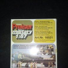 Hobbys: PREISER 1/87 US ARMY AIR FORCE 42-45. Lote 180462663