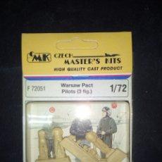 Hobbys: CMK 1/72 WARSAW PACT PILOTS. Lote 180462893