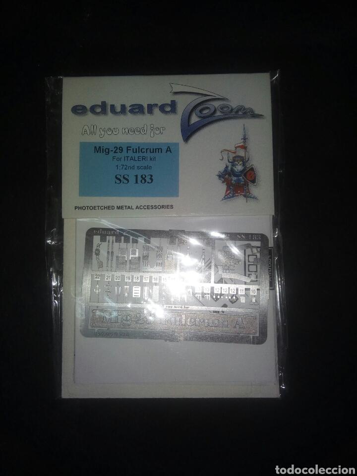 EDUARD 1/72 MIG 29 FULCRUM FOTOGRABADO (Juguetes - Modelismo y Radiocontrol - Herramientas y Accesorios)