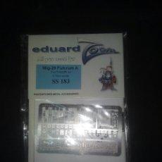 Hobbys: EDUARD 1/72 MIG 29 FULCRUM FOTOGRABADO. Lote 181617178