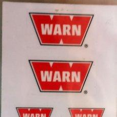 Hobbys: RC4WD WARN WINCH - PEGATINAS DE PLÁSTICO ESCALA 1/10 CRAWLER. Lote 182760583