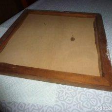 Hobbys: PEANA DE MADERA(30CM X 30CM) PREPARADA PARA RELLENAR Y LUEGO PINTAR O BARNIZAR.. Lote 187611628