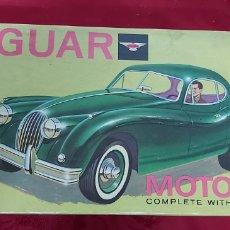 Hobbys: CAJA JAGUAR MOTORIZED MODEL CRAFT DE ITC. Lote 193347261