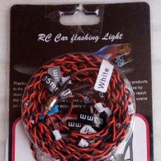 Hobbys: KIT DE ILUMINACIÓN 12 LED RC CAR FLASHING LIGHT / 5 MM AND 3 MM. Lote 192747558