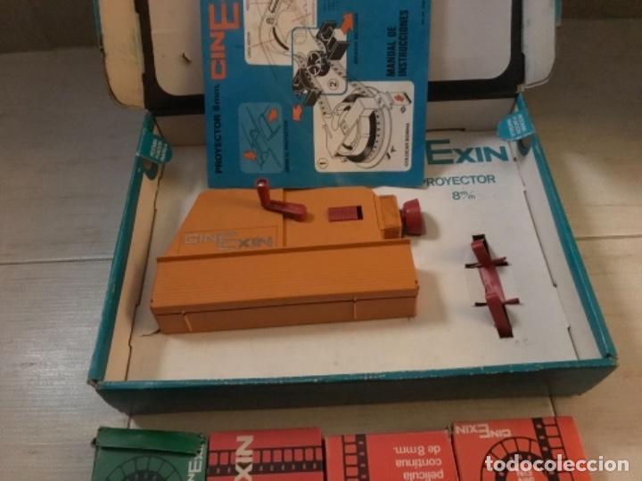 Hobbys: Cinexin antiguo - waly Disney CON 4 PELICULAS CINE EXIN AZUL AÑOS 70 ENCIENDE BOMBILLA - Foto 7 - 197424047