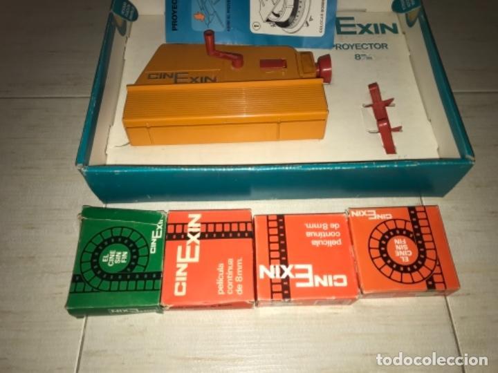 Hobbys: Cinexin antiguo - waly Disney CON 4 PELICULAS CINE EXIN AZUL AÑOS 70 ENCIENDE BOMBILLA - Foto 9 - 197424047