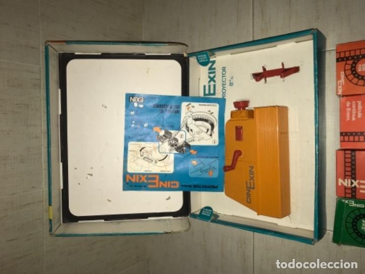 Hobbys: Cinexin antiguo - waly Disney CON 4 PELICULAS CINE EXIN AZUL AÑOS 70 ENCIENDE BOMBILLA - Foto 10 - 197424047