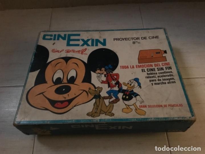 Hobbys: Cinexin antiguo - waly Disney CON 4 PELICULAS CINE EXIN AZUL AÑOS 70 ENCIENDE BOMBILLA - Foto 11 - 197424047