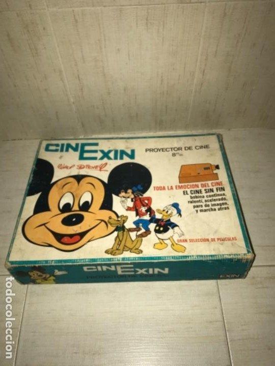 Hobbys: Cinexin antiguo - waly Disney CON 4 PELICULAS CINE EXIN AZUL AÑOS 70 ENCIENDE BOMBILLA - Foto 12 - 197424047