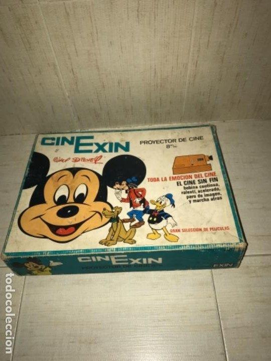 Hobbys: Cinexin antiguo - waly Disney CON 4 PELICULAS CINE EXIN AZUL AÑOS 70 ENCIENDE BOMBILLA - Foto 13 - 197424047