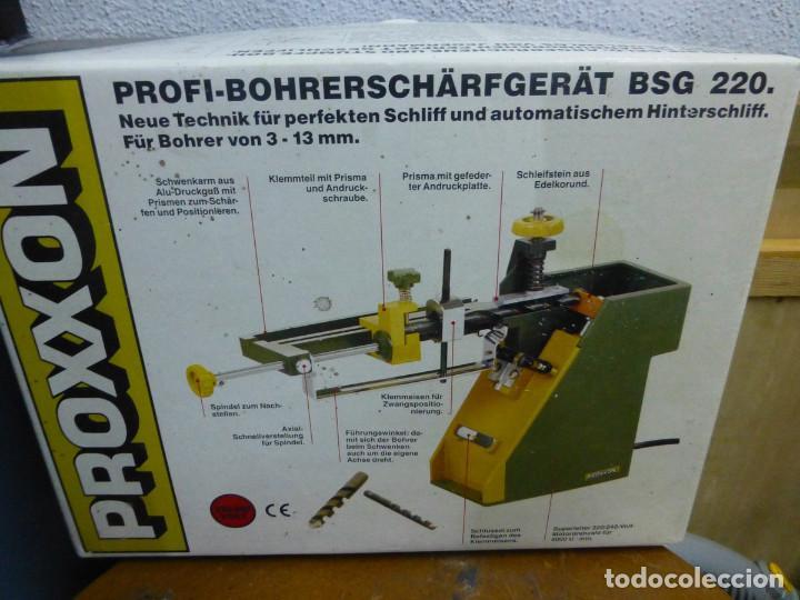 Hobbys: Proxxon Afilador de Perforación Si-Bsg 220 - Foto 2 - 200806711