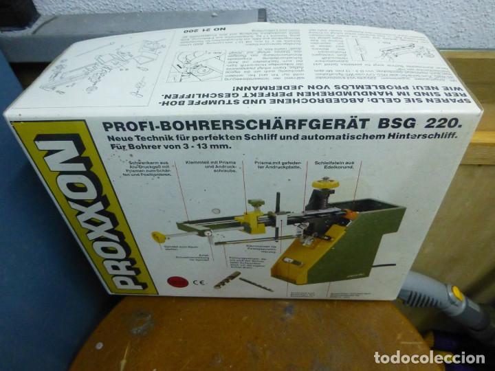 Hobbys: Proxxon Afilador de Perforación Si-Bsg 220 - Foto 3 - 200806711
