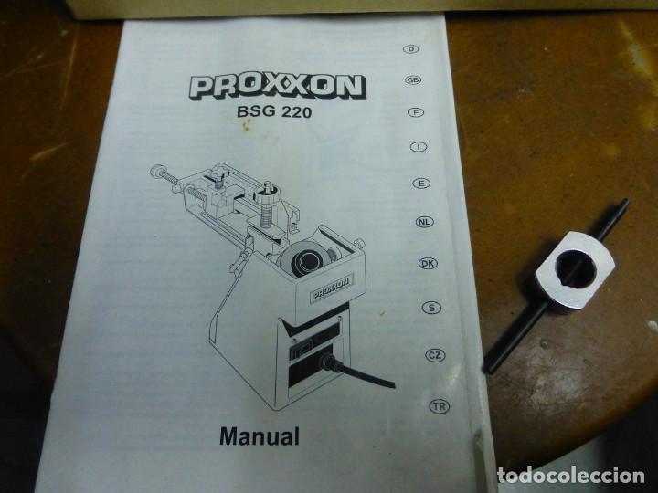 Hobbys: Proxxon Afilador de Perforación Si-Bsg 220 - Foto 5 - 200806711