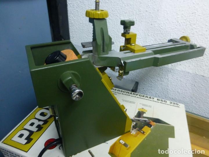 Hobbys: Proxxon Afilador de Perforación Si-Bsg 220 - Foto 9 - 200806711