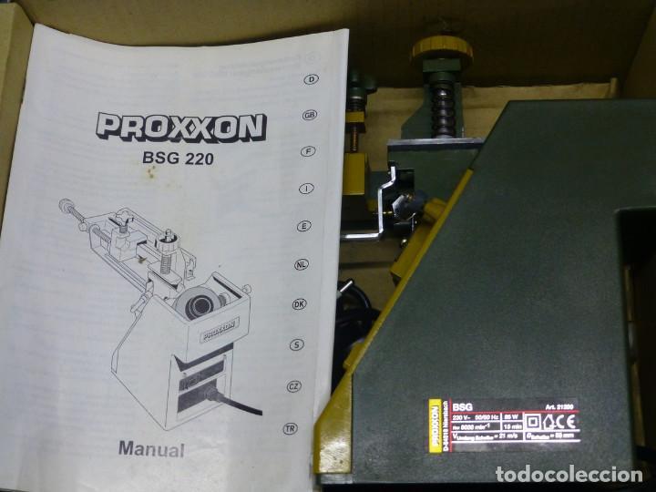 Hobbys: Proxxon Afilador de Perforación Si-Bsg 220 - Foto 12 - 200806711