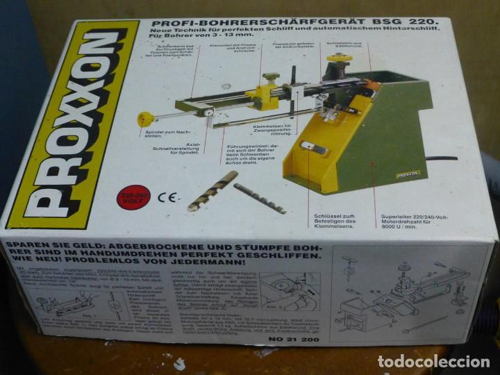 Hobbys: Proxxon Afilador de Perforación Si-Bsg 220 - Foto 13 - 200806711