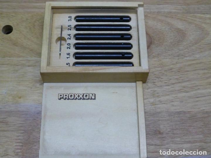 PROXXON ADAPTADORES PARA AFILADOR PEQUEÑO BROCAS 21232 475563 (Juguetes - Modelismo y Radiocontrol - Herramientas y Accesorios)