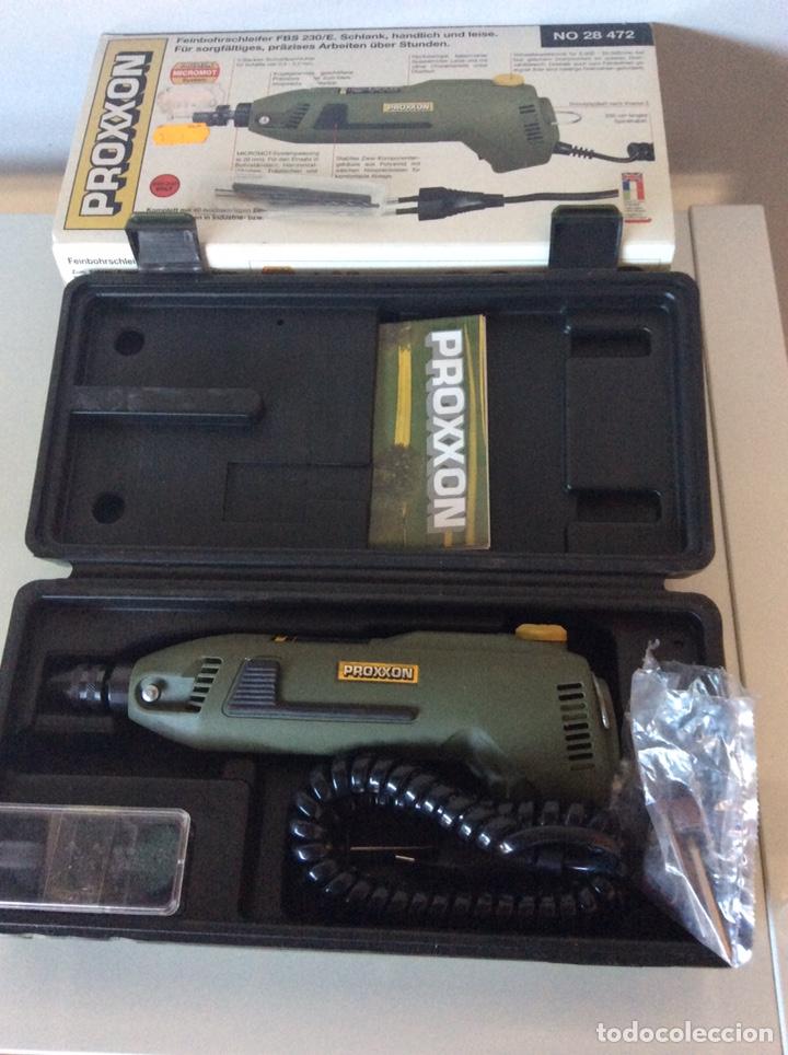 MINI TALADRO PROXXON MODELO 28472 DIRECTO 220V TIPO DREMEL NUEVO (Juguetes - Modelismo y Radiocontrol - Herramientas y Accesorios)