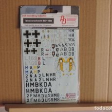Hobbys: AUTHENTIC DECALS 48-40 BF 110D CALCAS 1/48. Lote 57555903