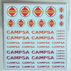 Hobbys: 1/87 HO CALCAS TRANSFERIBLES AL AGUA - CAMPSA. Lote 209965751