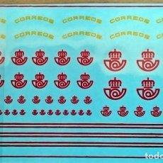 Hobbys: 1/87 HO TRANSFERIBLES AL AGUA LOGOTIPOS CORREOS ESPAÑA. Lote 230868265