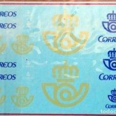 Hobbys: 1/43 TRANSFERIBLES AL AGUA LOGOTIPOS CORREOS ESPAÑA. Lote 237069300