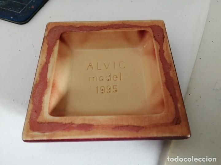 Hobbys: PEANA EMPEDRADA CUADRADA ALVIC MODEL 1995 70mm x 70 mm x 15mm (ÚTIL 52mm x 52mm) - Foto 2 - 218960333