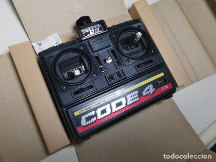 Hobbys: MANDO RADIO CONTROL BYCMO CODE-4 (35M)--nuevo sin uso - Foto 4 - 219545392
