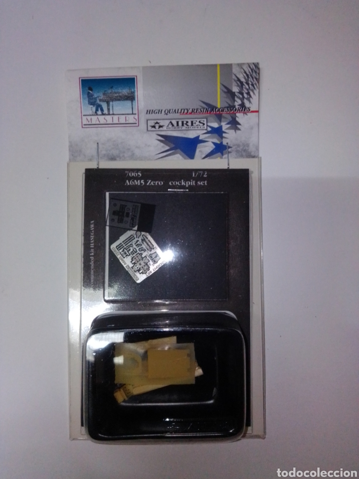 AIRES A6M5 ZERO 1/72 COCKPIT SET (Juguetes - Modelismo y Radiocontrol - Herramientas y Accesorios)