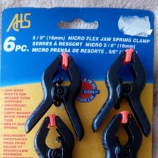 Hobbys: MODELISMO: MORDAZAS / SARGENTOS - CLAMPS / JAWS (6 UNIDADES). Lote 222991041