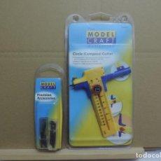 Hobbys: MODELCRAFT - COMPAS DE CORTE + CUCHILLAS DE REPUESTO. Lote 224715296
