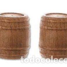 Hobbys: BARRIL DE MADERA DE NOGAL 18 MM (2 UNIDADES) ARTESANIA LATINA 8571. Lote 229651500