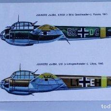 Hobbys: HOJA DE CALCAS ESCI Nº 22 JUNKERS JU-88. Lote 229887185