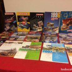 Hobbys: 24 CATÁLOGOS DE DRAGÓN. Lote 236860150