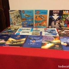 Hobbys: 30 CATÁLOGOS DE AIRFIX. Lote 236861200
