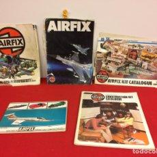 Hobbys: 5 CATÁLOGOS DE AIRFIX. Lote 236861355