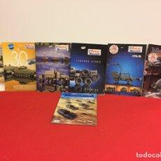 Hobbys: 7 CATÁLOGOS DE ROCCO MINITANKS. Lote 236861665