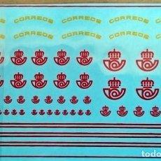 Hobbys: 1/87 HO TRANSFERIBLES AL AGUA LOGOTIPOS CORREOS ESPAÑA. Lote 237763795