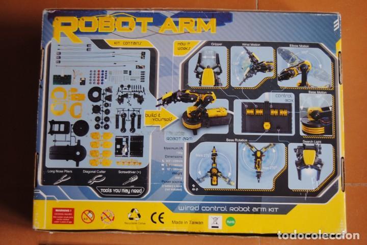 Hobbys: BRAZO ROBOTICO CON MANDO CEBEKIT C-9895 - NUEVO - ROBOT - JUGUETE - ELECTRONICA - ROBOT ARM - Foto 2 - 268796589