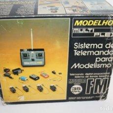Hobbys: MODELHOB MULTIPLEX - SISTEMA DE TELEMANDO PARA MODELISMO - MODULO FRECUENCIA 35MHZ FM. Lote 270551823