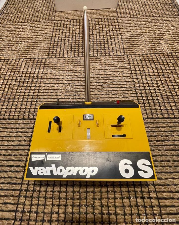 MANDO RADIOCONTROL GRAUPNER -GRUNDING, VARIOPROP- 6 S, DE 1970 (Juguetes - Modelismo y Radiocontrol - Herramientas y Accesorios)