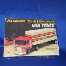 Hobbys: VAN TRUCK ATCOMI X-4 RADIO CONTROL STEERING WHEEL CONTROL. Lote 288408768